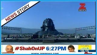 PM Modi to inaugurate 112-ft Shiva statue in Coimbatore today