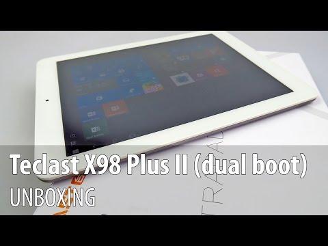 Teclast X98 Plus II Unboxing în Limba Română (Tabletă dual boot de 9.7 inch)