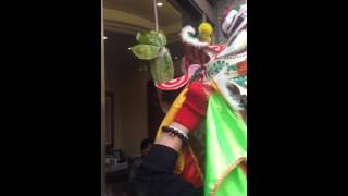 London Chinese New Year 2016 - Lion Dance