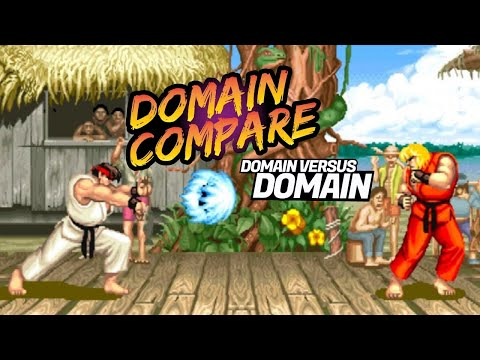 Domain Name Comparison Tool by DNAcademy