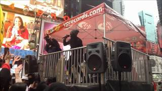 Gyptian Times Square Performance 2013