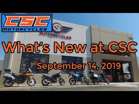 What's new at CSC September 14, 2019