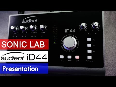 Presentation: Audient iD44 Class A USB Audio Interface