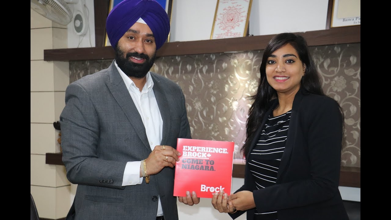 Brock University Update_24 Nov, With Mr. Bhavnoor Singh Bedi (MD Pyramid eServices)