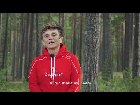 Eva Lena Frick hälsar välkommen till Vasaloppets sommarvecka 2018
