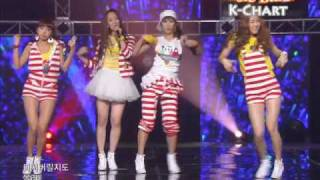 [K-Chart] 16 [▲26] Push Push - Sistar (2010.6.18 / Music Bank Live)