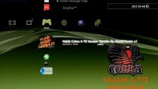 4.75 Version Spoofer for CFW CEX Habib Cobra 4.66+DOWNLOAD