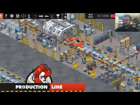 PRODUCTION LINE (PC) - Gestiona tu propia fábrica de automóviles || GAMEPLAY en Español