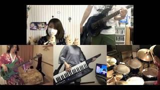 [HD]Busou Shoujo Machiavellianism OP [Shocking Blue] Band cover