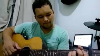 Uma coisa peço ao senhor Fernandinho violão fringestyle