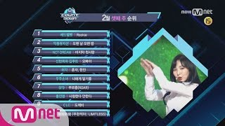 What are the TOP10 Songs in 3rd week of February? M COUNTDOWN 170216 EP.511