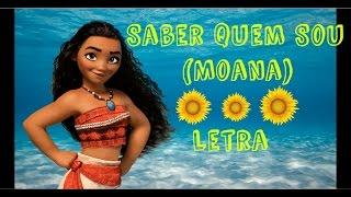 Saber Quem Sou (Moana) - Letra