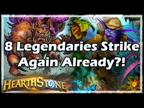 [Hearthstone] 8 Legendaries Strike Again Already?!