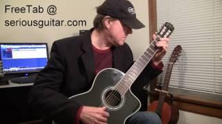 Avalanche , Leonard Cohen , Guitar Solo , FREE TAB width=