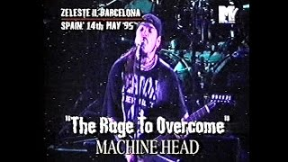 MACHINE HEAD - Live in Spain & France 1995