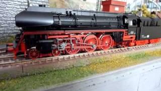 Ozvučený model parní lokomotivy BR 01.5 DR