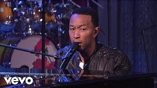 John Legend - Save Room (Live on Letterman)