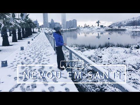 Nevando nas ruas de Santiago | Pigmento F