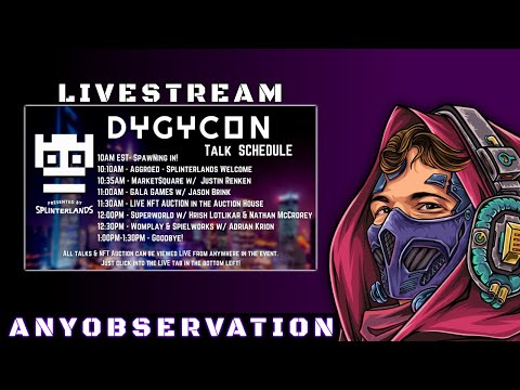 Join me at DYGYCON | Online conference for crypto and NFT