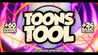 ToonsTool FX Kit | After Effects project