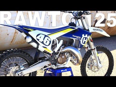 2016 Husqvarna TC125 2 Stroke RAW - Motocross Action Magazine