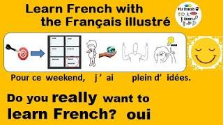 J'ai plein d'idées pour le weekend - Le français illustré numéro 155