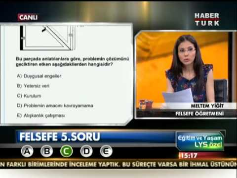 2012 LYS 4 Psikoloji Soru ve Cevapları Sakiz.NET