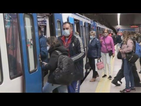 Madrid vive con normalidad primer día laboral de restricciones por COVID-19