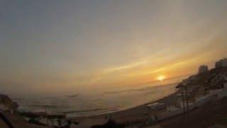 Playa Senoritas, Punta Hermosa, Peru- Sunset Time Lapse