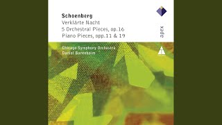 5 Orchestral Pieces, Op. 16: No. 1 Vorgefühle (Forebodings)
