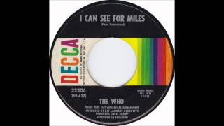 "The Who ""I Can See For Miles"" U.S. Decca Single"