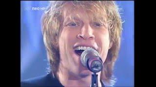 Bon Jovi   It's My Life Höhepunkte aus 20 Jahren Wetten, dass     ZDF Neo HD