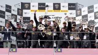 Milos Pavlovic - Lamborghini Super Trofeo - Highlights of the 2014 season