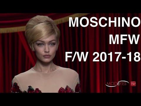 MOSCHINO | WOMAN FALL WINTER 2017 18 | FULL FASHION SHOW HD