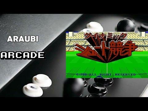 Dynamic Shoot Kyousou (Jaleco, 1988) Arcade [053] Walkthrough Comentado
