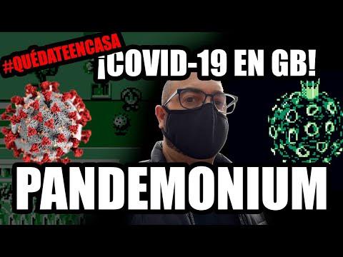 ¡COVID-19 EN GAMEBOY! - PANDEMONIUM #QUÉDATEENCASA CORONAVIRUS