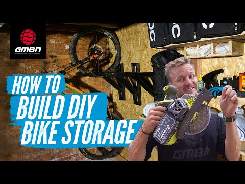 How To Build DIY Bike Storage | Blake Builds A Mountain Bike Rack