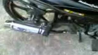 modenas ct110- SR7 exhoust (E POWER)