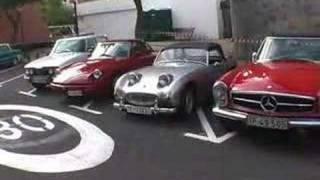 Exposición Coches Clásicos Las Mercedes