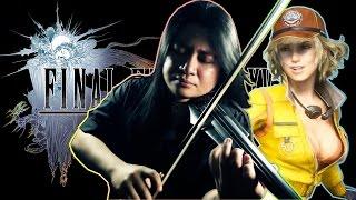 Final Fantasy XV - Veiled in Black (Imperial/Magitek Battle Theme) [Metal Violin Cover/Remix] || SPG