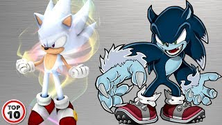 Top 10 Sonic Transformations