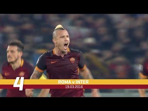 Radja Nainggolan's Top 5 Roma Goals
