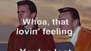 Righteous Brothers - Lost That Loving Feeling Lyrics