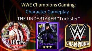 "WWE Champions - 🎥 Undertaker ""The Deadman"" 3 STAR GOLD Gameplay Video"