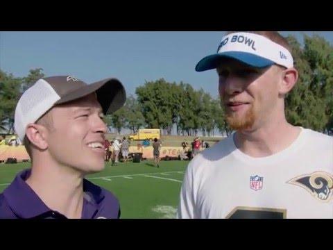 Johnny Hekker Talks Sam Koch, Will Hill Hit