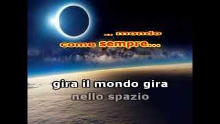 IL MONDO -Jimmy Fontana  - KARAOKE -VERSION - VIDEOKARAOKEMANIA