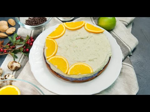 Безглютеновый чернично-авокадовый кешью-кейк | Исключительная еда