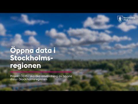 Ökad användning av öppna data i Stockholmsregionen