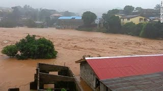 Hundreds feared dead in Sierra Leone mudslides