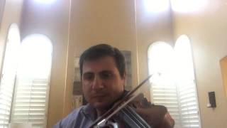 Violin beginner - Con te partiro